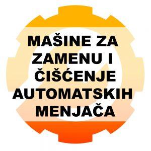 Mašine za zamenu i čišćenje automatskih menjača